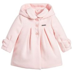 459cca4db9f586 An adorable pink coat for your little one by Mayoral