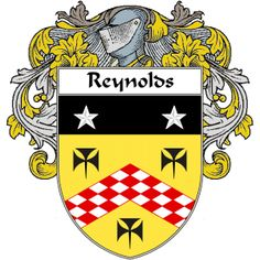 Reynolds Coat of Arms   namegameshop.com has a wide variety of products with your surname with your coat of arms/family crest, flags and national symbols from England, Ireland, Scotland and Wale