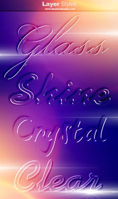 Download Free Photoshop Glass Styles V2