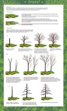 yep, im still alive. im so sorry i didnt post anything for a long time because i had work to do, but now i updated yet another tutorial and its about trees. trees are alot of work, so there will be...
