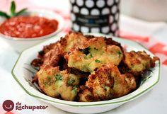 Recetas de masas y rebozadosRecetas de pescado y mariscoRecetas de tapas y aperitivos Buñuelos de bacalao. Receta tradicional