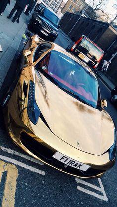 Golden Ferrari...