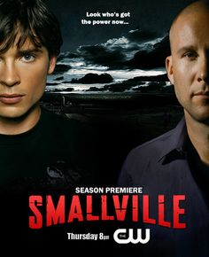 Smallville clark kent and lex luthor Annette O'toole, John Schneider, Tom Welling, Kristin Kreuk, Sci Fi Series, Tv Series, Lex Luthor Smallville, Dc Comics Characters, Season Premiere
