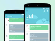 Material design also focuses on usability