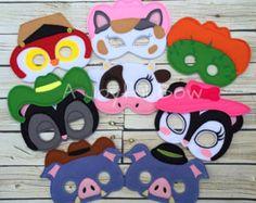 Items similar to Sherriff Callie mask on Etsy