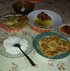 My failed diet...#sad# because my fav...fried egg..