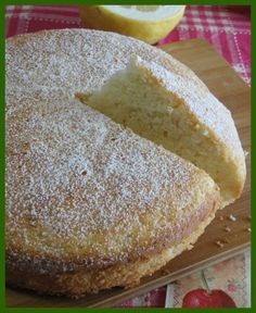 Torta di albumi al limone Torte Cake, Angel Cake, Pan Dulce, Sweet Cakes, Sweet Recipes, Food To Make, Cake Decorating, Bakery, Food And Drink