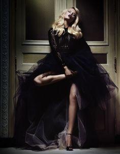 The Realm of Sensuality - Natasha Poly for Vogue Japan