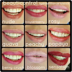 Beauticontrol hydrabrilliance lipstick colors. Available at www.beautipage.com/spagirl_lauren Nude Lipstick, Lipstick Colors, Personal Image, Beautiful Lips, Berries, Profile, Makeup, Beauty, User Profile