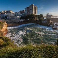 Plage du Port-Vieux à Biarritz