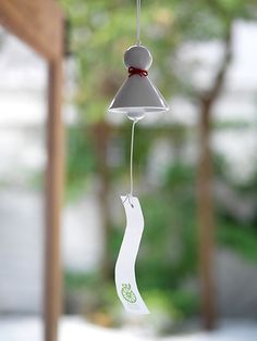 "Japanese talisman wind bell -use this talisman ""teru teru bozu"" to pray foe fine weather on rainy season in japan."