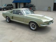 1967 Ford Mustang Shelby GT 500-428 Cobra Jet For Sale