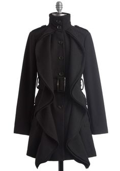 Frill Sergeant Coat | Mod Retro Vintage Coats | ModCloth.com - StyleSays
