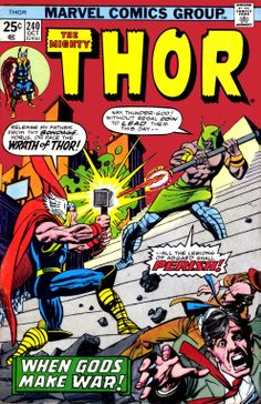 Thor #240 first appearance of Seth.