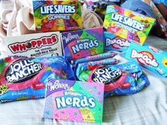 yeah i love candy a lot x Sleepover Snacks, Junk Food Snacks, Malted Milk, Food Goals, Sweet Desserts, Food Cravings, I Love Food, Snack Recipes, Food Porn