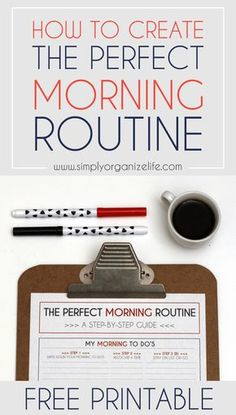 morning routine | how to create a routine | productive morning | creating habit