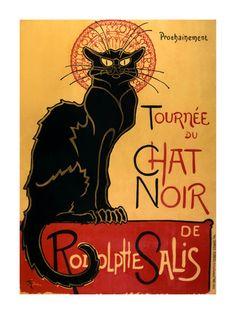 Tournée du Chat Noir, c.1896 Art Print at AllPosters.com