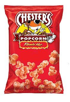 Chester's Flamin Hot Flavor Popcorn, 3oz (12 Pack) Chesters http://www.amazon.com/dp/B00OVDS3DI/ref=cm_sw_r_pi_dp_ftVNub05JBXZJ