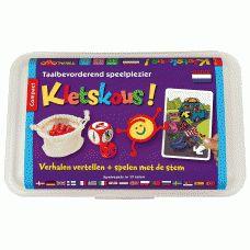 Kletskous! - spelenderwijs verhalen vertellen en zinsbouw oefenen