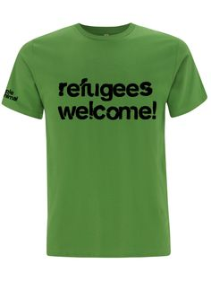 Refugees Welcome! T-shirt by – Simple Animal