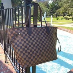 Louis Vuitton Damier Ebene Neverfull GM NOW available to purchase on www.mymoshposh.com! Get it quick!
