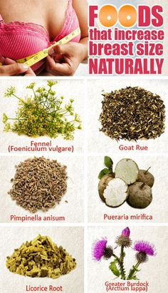 Top 6 foods – Increase breast size naturally