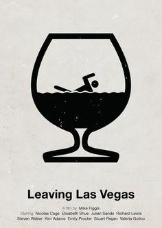 Leaving Las Vegas Movie Poster Best Movie Posters Cool Posters Cinema Posters Film