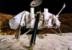 Viking 2 landed on Mars in 1976. This historic landing showed the advancement that the USA was willing to take and step to improve how scientific and mathematic fields.