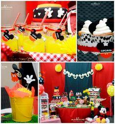 80 ideias para festa do Mickey Mouse - Dicas da Japa