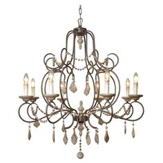 Yosemite Home Decor SC3145-8RR Chandelier - SC3145-8RR