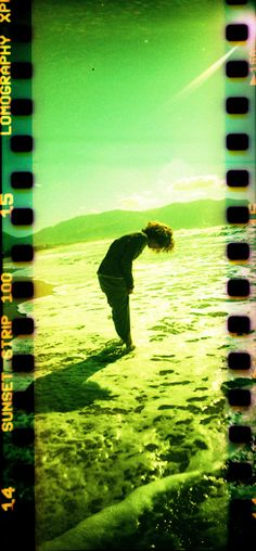 Lomography Sprocket Rocket loaded with Lomography Color X-Pro Sunset Strip 100 35mm