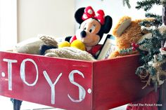 12 Days of Christmas, Day 2, Toy Box
