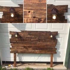 How To Build A Headboard From Pallets - 8 Simple Steps - The Saw GuyDIY Wood Pallet furniture is popular for many reasons. Use our guide to build an upcycled pallet headboard in 8 simple Headboard Designs, Diy Pallet Projects, Headboards For Beds, Rustic Industrial, Pallet Furniture, Furniture Nyc, Furniture Stores, Cheap Furniture, Wood Pallets