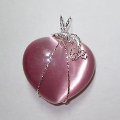 Christmas Gift jewelry heart necklaceheart by WireWrapJewels, $24.00
