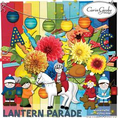 Lantern Parade - celebrate St. Martins Day and scrap about it... - Available at #theStudio #CarinGrobeDesign