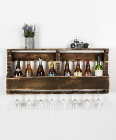 Another great find on #zulily! Pallet Wall Shelf by DelHutson Designs #zulilyfinds