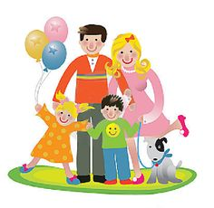 Illustration about happy fun family vector illustration isolated over white background. Illustration of balloons, father, colourful - 7201369 Family Vector, Happy Fun, Technology Logo, Printable Art, Printables, Family Guy, Happy Family, Balloons, Projects To Try