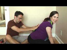 Back massagger made with tennis balls
