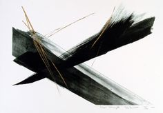 Inner Strength by Shinoda Toko 2000 Lithography & Calligraphy 53 x 72 cm AVAILABLE