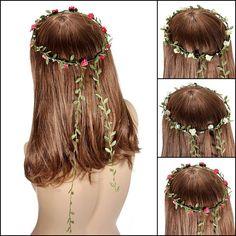 amazones gadgets Casamento de festival boêmio fitas de flor de cobertura para a cabeça de Bride G: Bid: 11,37€ Buynow Price 11,37€…