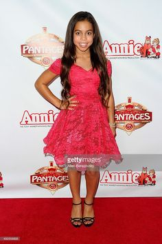 "Asia Monet Ray 2015 | Premiere Of ""Annie"" At The Hollywood Pantages Theatre 