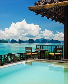 The World's Dreamiest Honeymoon Suites | Best Honeymoon Hotel Rooms & Suites | Best Places for Honeymoon | Six Senses Yao Noi