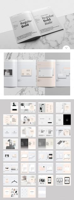 Studio Branding Guidelines Template for Adobe InDesign | WE AND THE COLOR | Bloglovin'