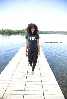 Dark Hand black Tshirt for women #Mode #UrbanStyle from: www.darkhandwear.com