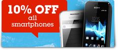 10% off all Pay As You Go Smartphones at Phones 4u. Check them out here: http://www.phones4u.co.uk/shop/shop_payg_main.asp?intcid=PAYG%20Phones