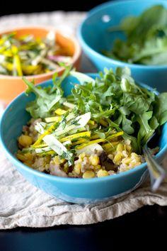 vegetarian yellow peas with wild rice
