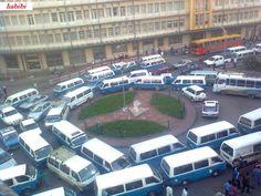 Traffic in the capital Addis Abeba