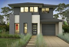 Clarendon Home Designs: Ariel 27 - Facade Option 3. Visit www.localbuilders.com.au/builders_nsw.htm to find your ideal home design in New South Wales
