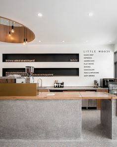 via heavywait - modern design architecture interior design home decor & Coffee Bar Design, Coffee Shop Interior Design, Bakery Interior, Restaurant Interior Design, Modern Restaurant, Retail Interior Design, Cozy Coffee Shop, Small Coffee Shop, Plywood Furniture