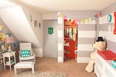 gender neutral - circus inspired nursery